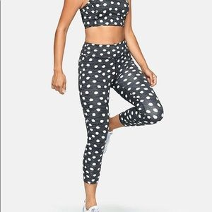 Outdoor Voices Tech Sweat Polka Dots
